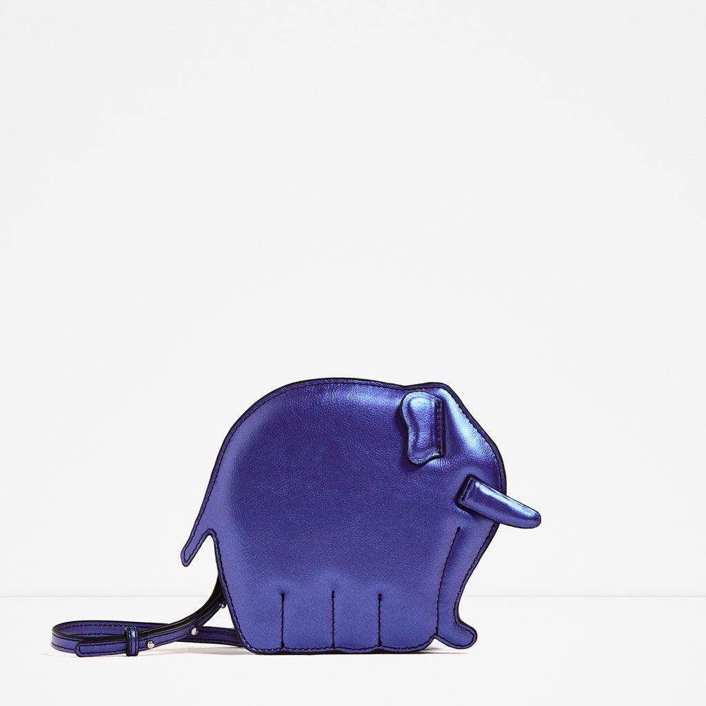 af6317d3991 ZARA ELEPHANT CROSSBODY BAG | Estilo... | Bags, Zara bags, Mini bag