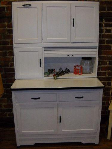 Antique/Vintage Hoosier Cabinet/Kitchen w/Flour Bin ...