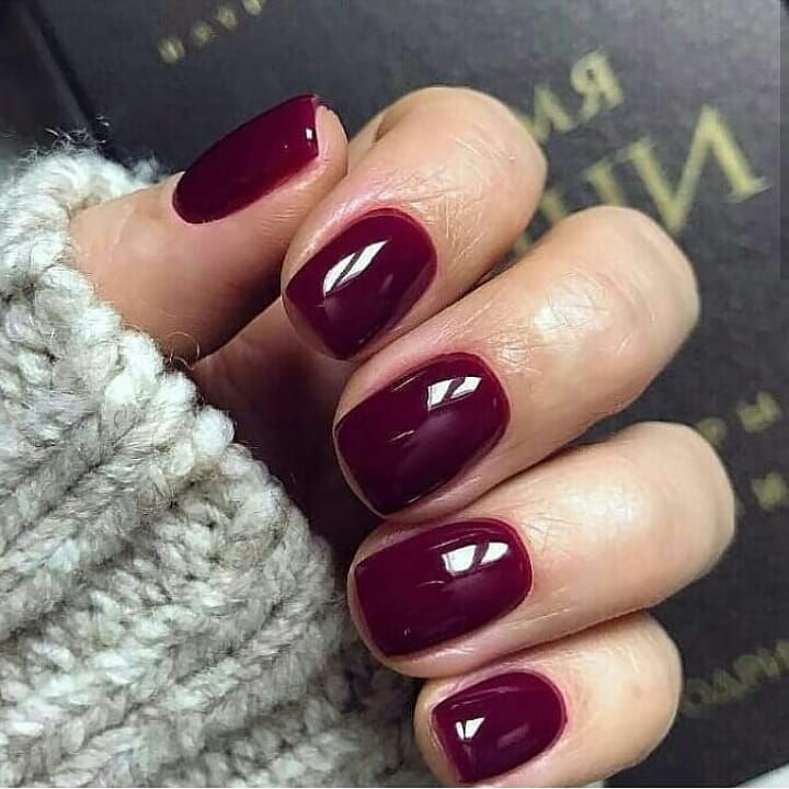 Beautiful autumn nail art design to try this autumn