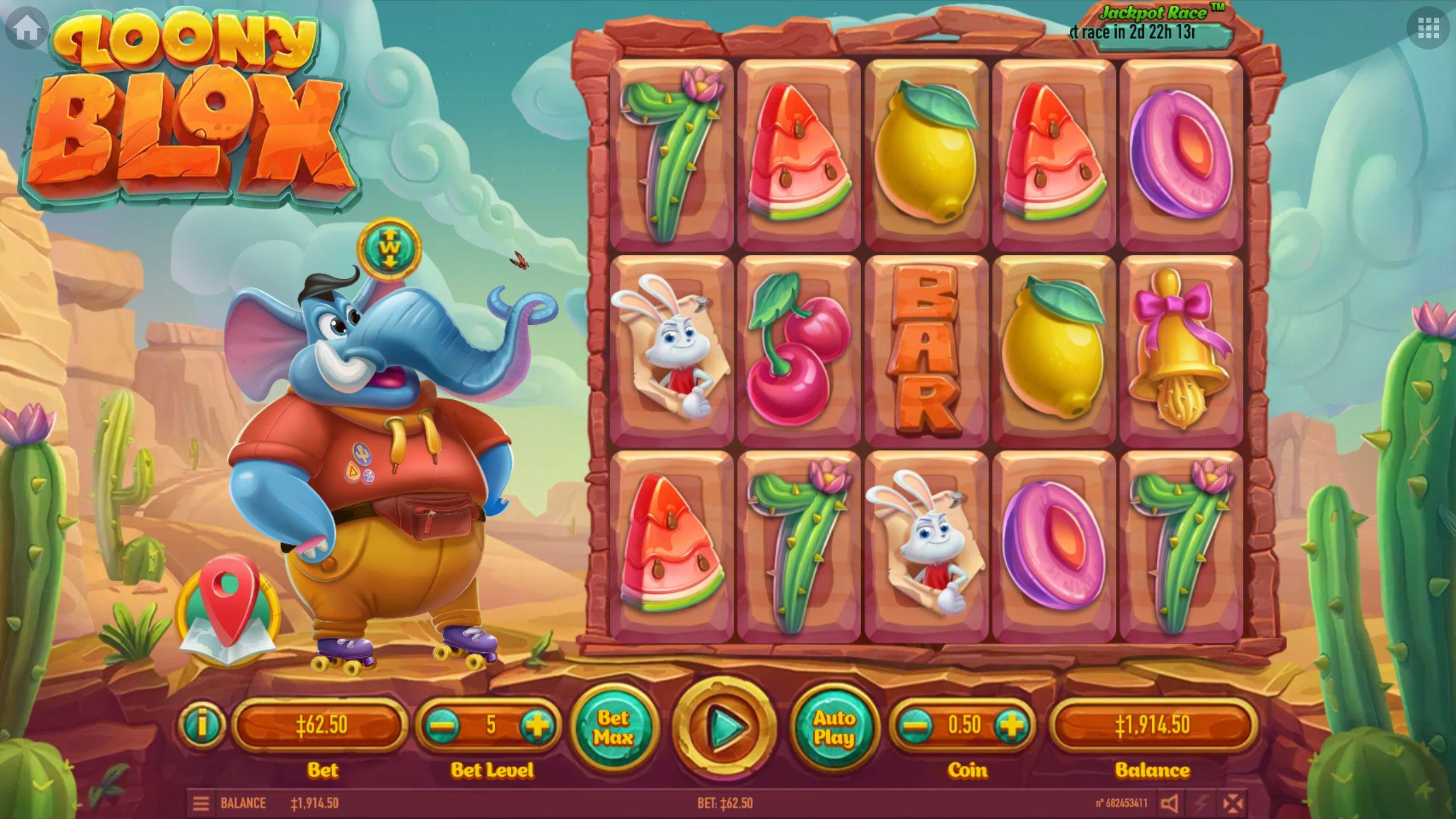 Loony Blox Slot Machine