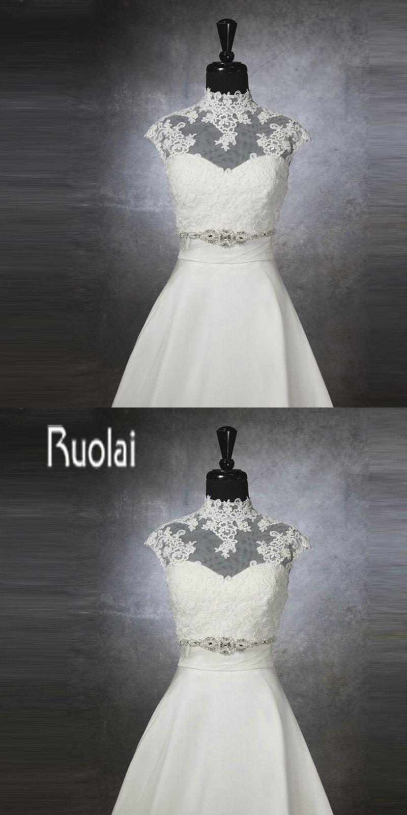 Wedding dress wrap  Fast Shipping High Neck Applique Tulle Elegant Wedding Wrap Bridal