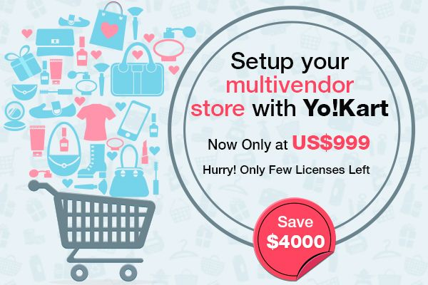 Upto 80% Discount on Yo!Kart Multivendor Ecommerce Store DEMO: http://demo.yo-kart.com/  http://www.fatbit.com/website-design-company/multi-vendor-ecommerce-system.html #Multivendor #MultivendorStore #EcommerceScript #Ecommerce #OnlineStore #YoKart #FATbit #Startups