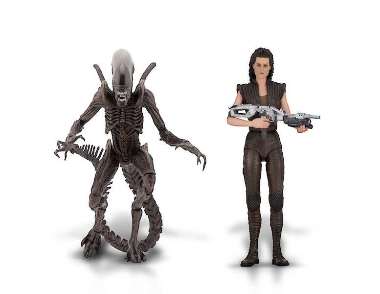 "Ripley 8 /& Xenomorph Warrior Alien Resurrection 7/"" Figure Set of 2 Neca 2019"