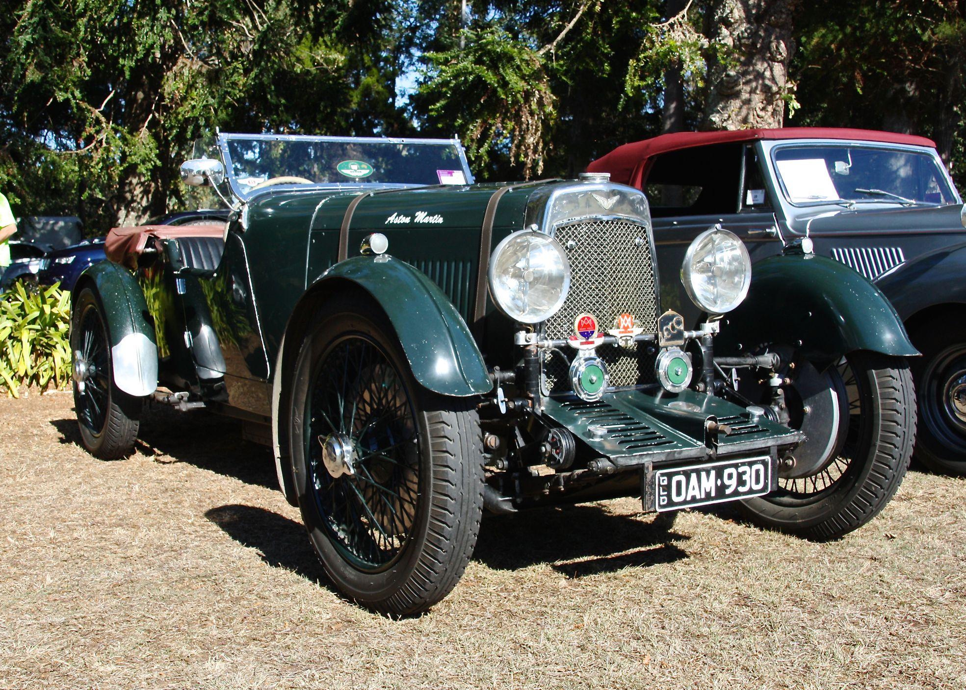 1930 Aston Martin Brisbane Car Show 2014