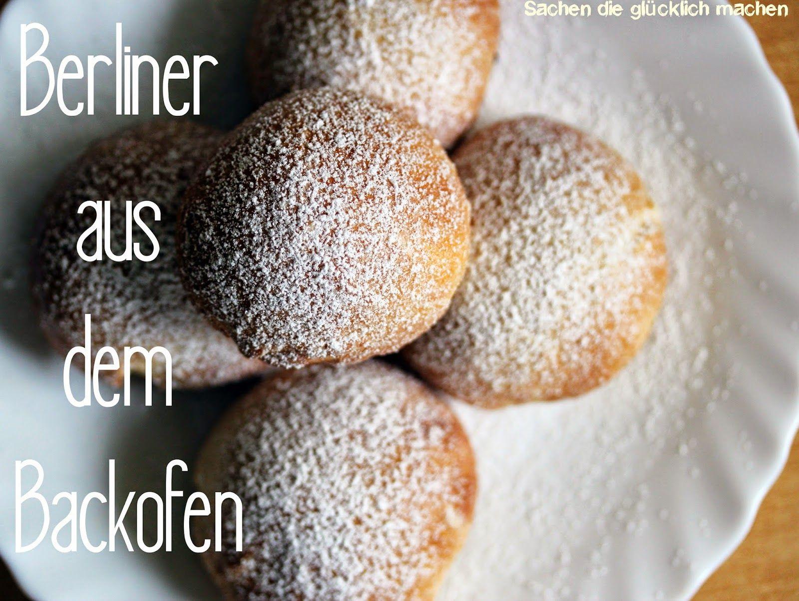 Berliner Kreppel Pfannkuchen Krapfen Aus Dem Backofen Ofen