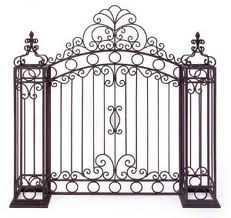 Garden Gates for Laser Cut Invitation and Ceremony