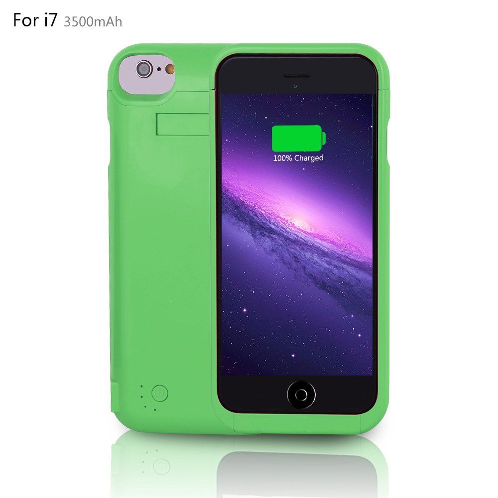 YHhao 3500mAh iPhone 7 Battery Case, Portable Charger for