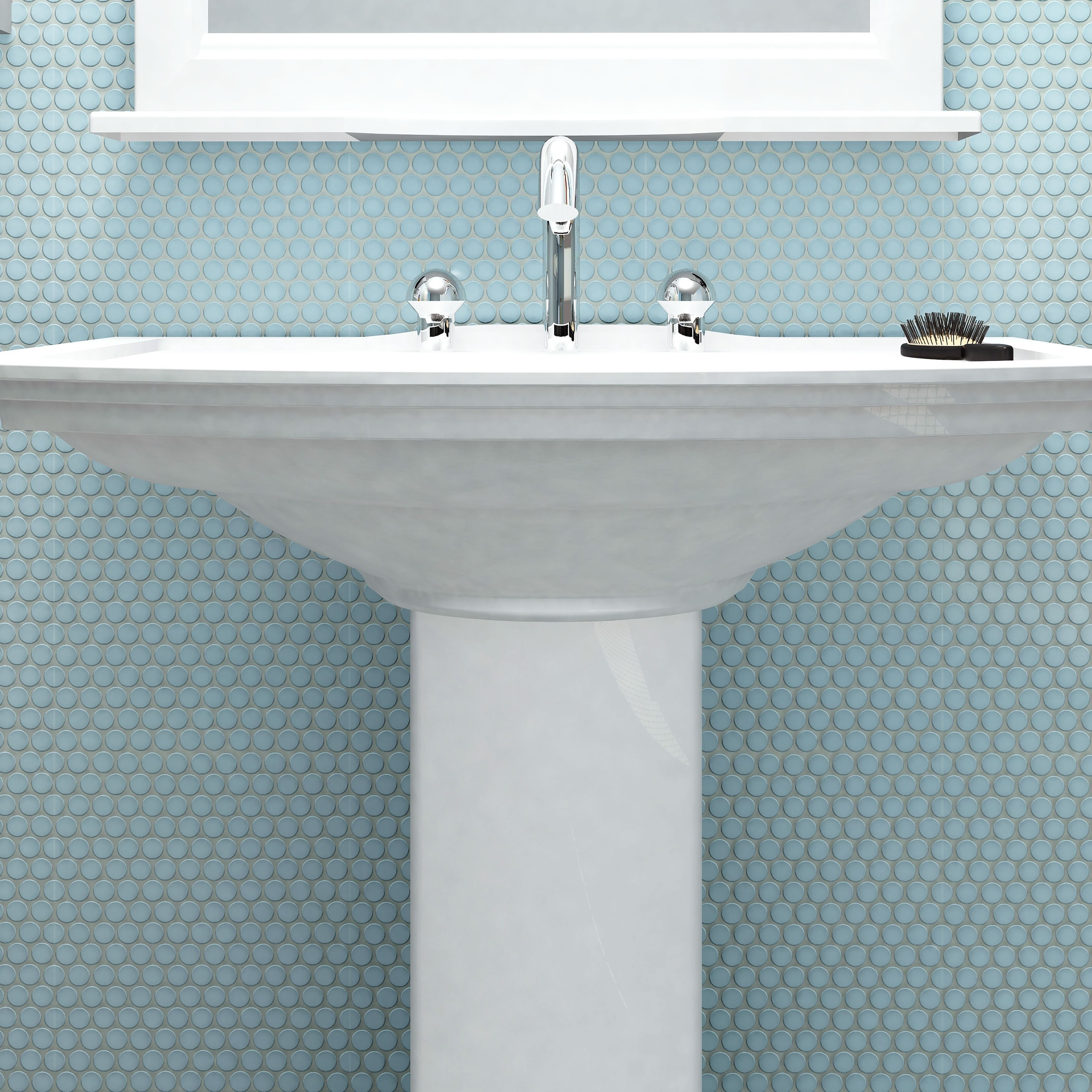 These inviting mesh-mounted mosaic tiles offer new design ...