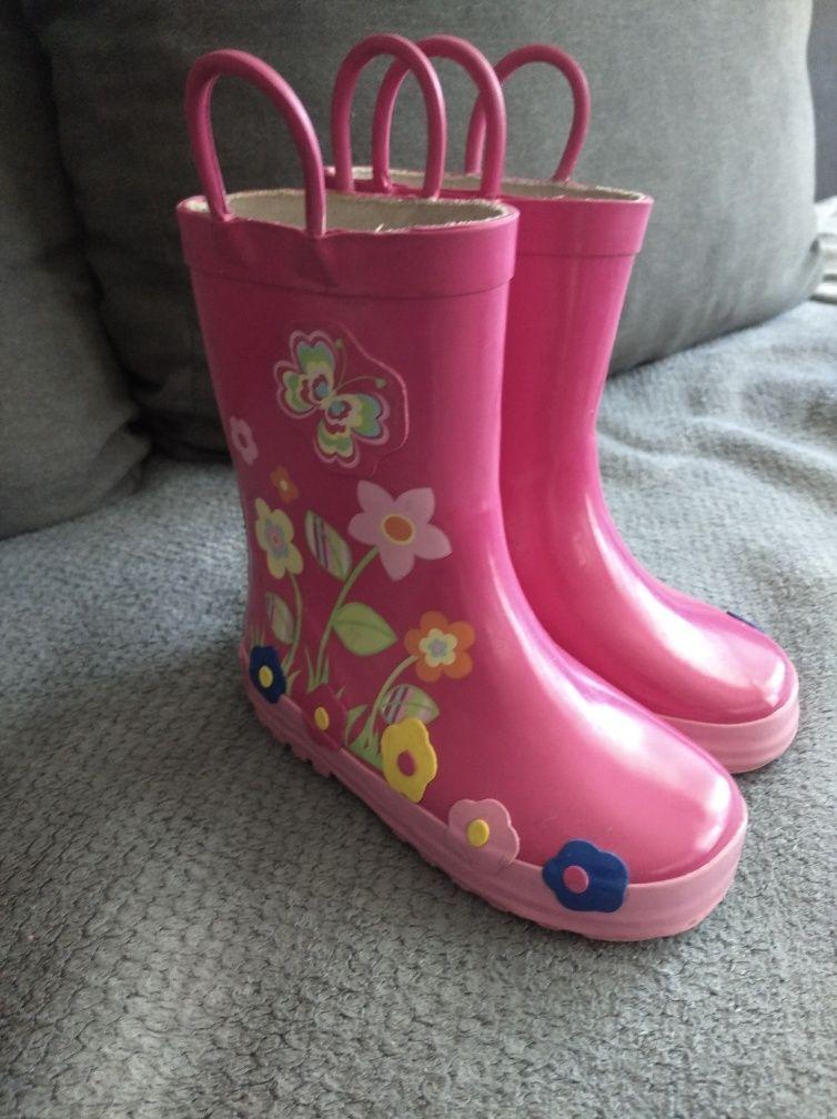 Kalosze Dziewczece Rain Boots Rubber Rain Boots Boots