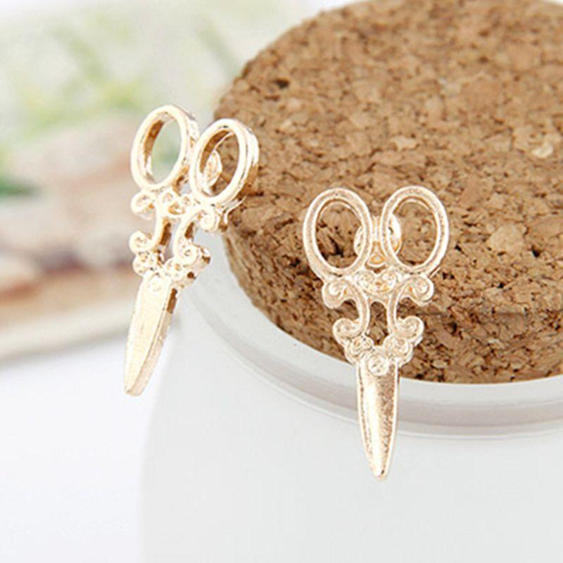 Scissor Shaped Earrings | simply unique style | Pinterest ...
