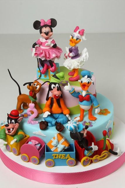 Super Mickey Cu Trenulet Pentru Thea Goofy Cake Disney Birthday Cakes Funny Birthday Cards Online Bapapcheapnameinfo