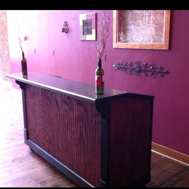 Jakes first portable bar that he made:). At Bbkings in our private ...