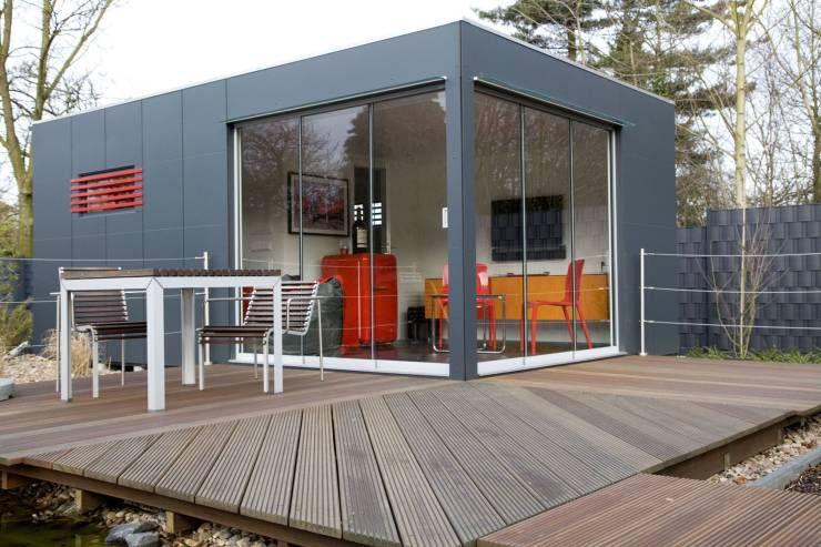 moderne gartenhäuser, Wohnideen design