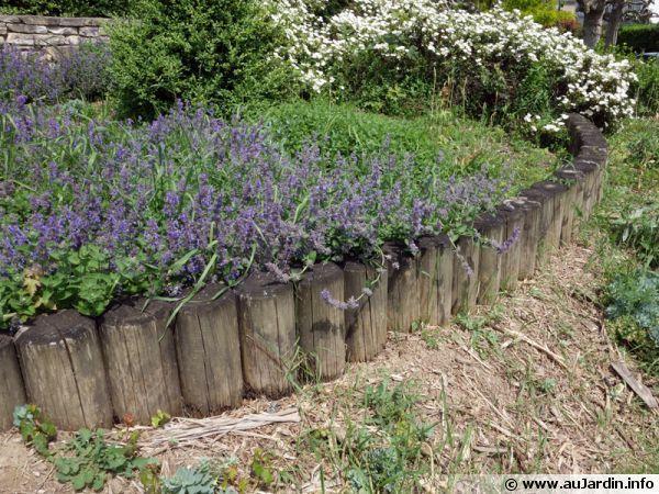 les bordures de jardin | rondin de bois, rondin et bordure