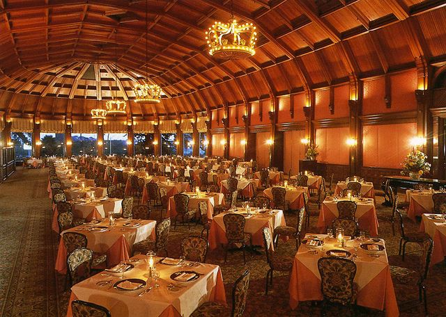 Crown Room Restaurant Hotel Del Coronado Ca