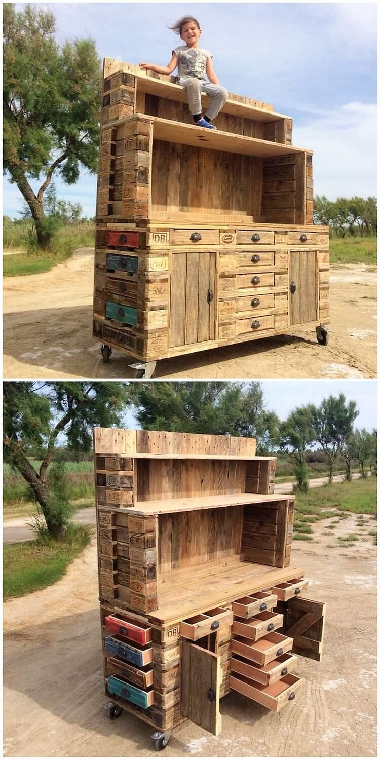 Excellent DIY Shipping Pallet Ideas to Tryout