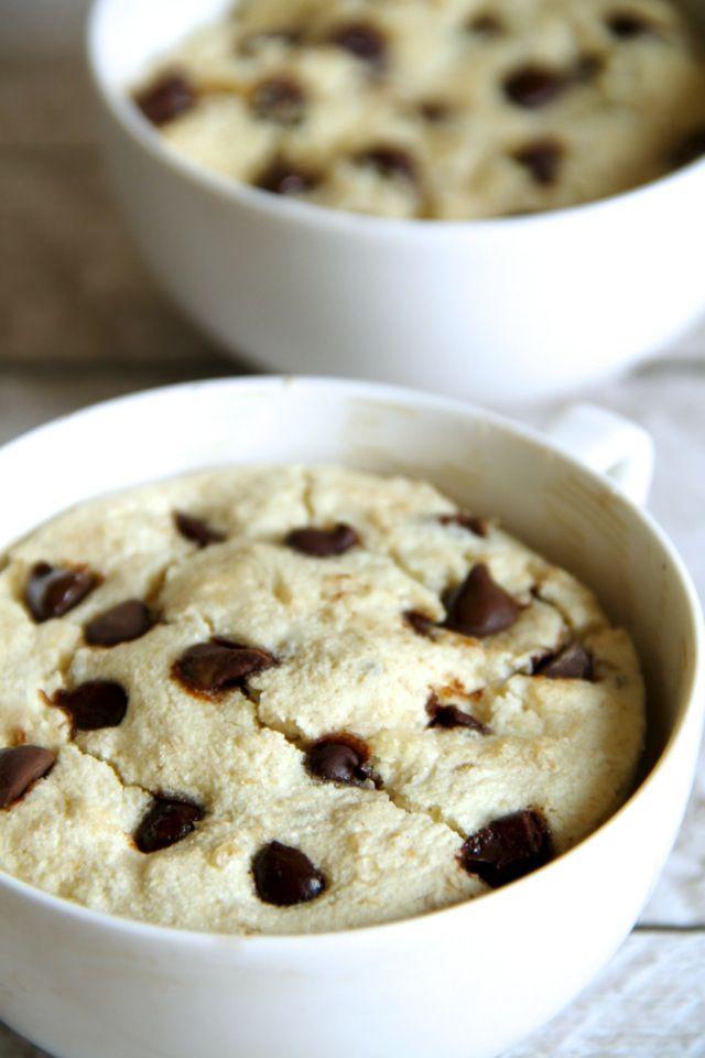 . oatmeal cookie dough mug cake .