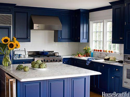 28 Colorful Kitchens That Will Inspire You | Cocinas, Para el hogar ...