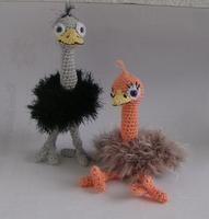 Crochet pattern Amigurumi crochet Ostrich - Product picture - lucygurumi