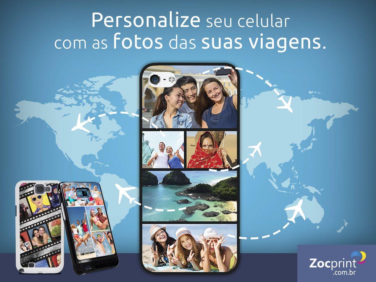 Utilize as fotos de suas viagens!