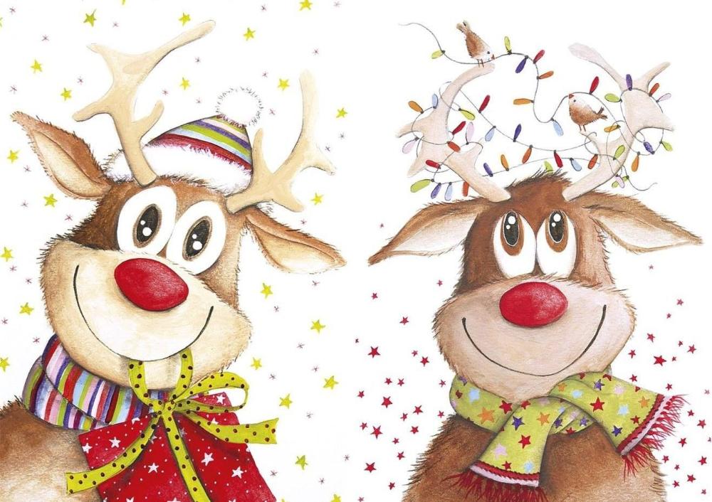 раскраски открытки на новый год олени: 5 тыс изображений ...