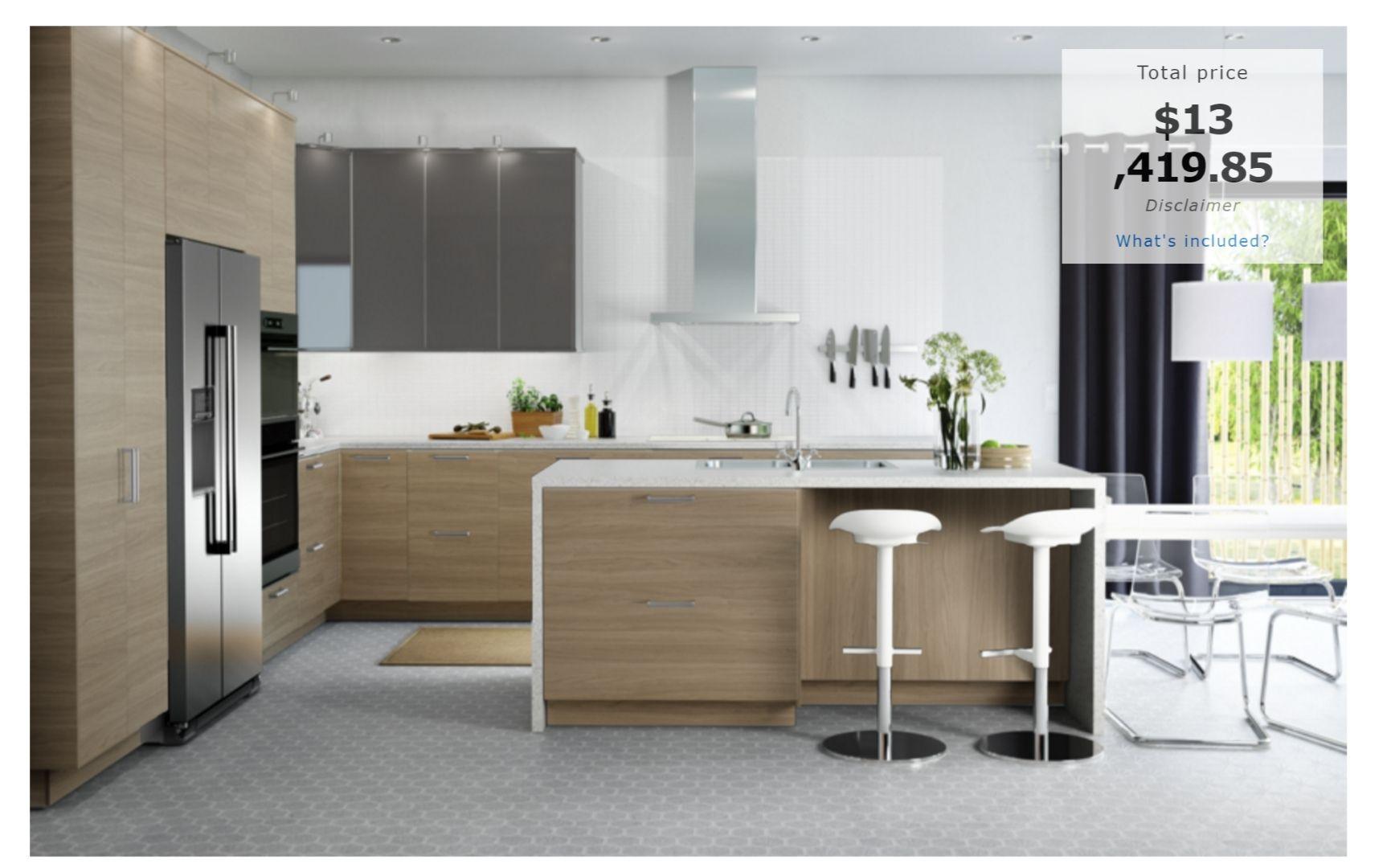 ikea modern kitchen Google Search Cost of kitchen
