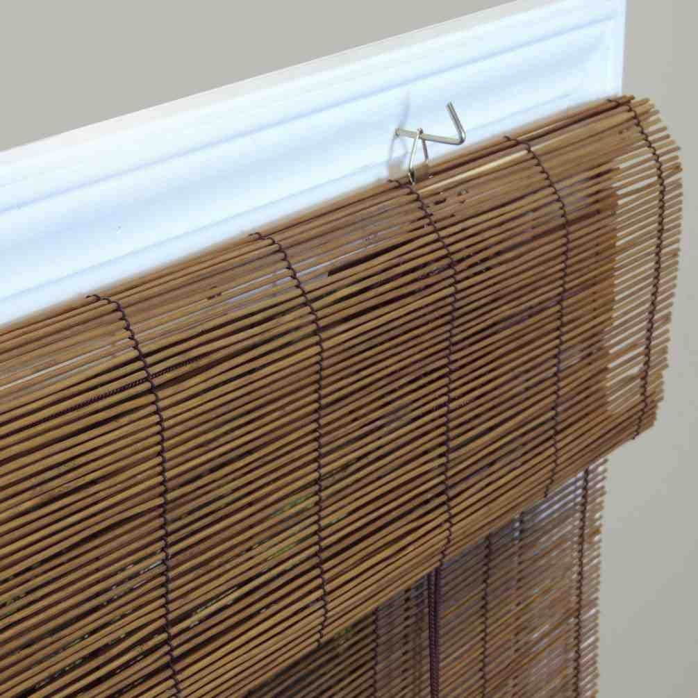 Bamboo Roll Up Blinds Window Shades Outdoor Blinds Sliding Door