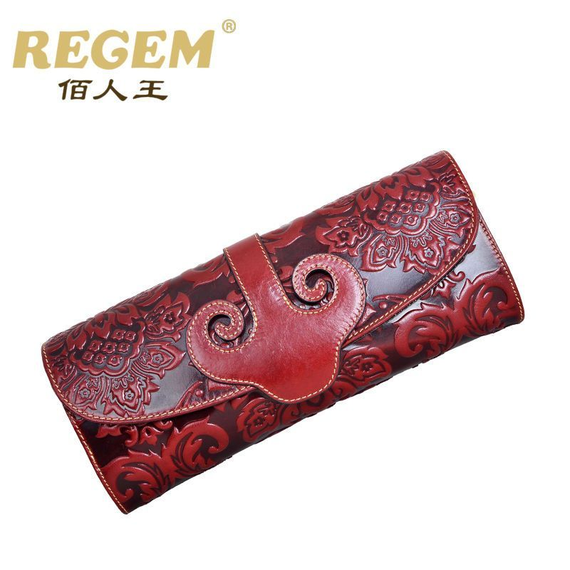 df8762b7969a Details about Traditional Chinese Style Bag Womens Genuine Leather ...