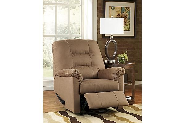 """The Harold Point Recliner from Ashley Furniture HomeStore (AFHS.com). Featuring soft earth-toned upholstery and a supportive comfortable design, the """"Harold Point"""" """"0"""" Wall recliners are the exceptional choice to enhance the beauty and comfort of any living area."""