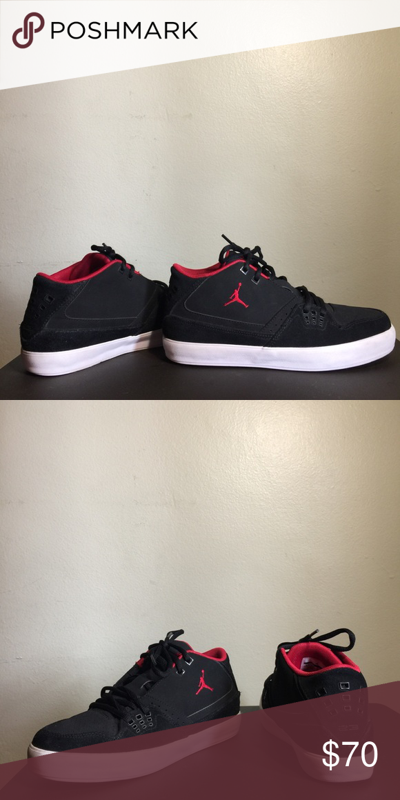 65d2dc222a9 Jordan Flight 23 Classic Jordan Flight 23 Classic in Black & Red In new  condition, worn once. Super comfortable. Size 6 Youth, 7.5 in Women.