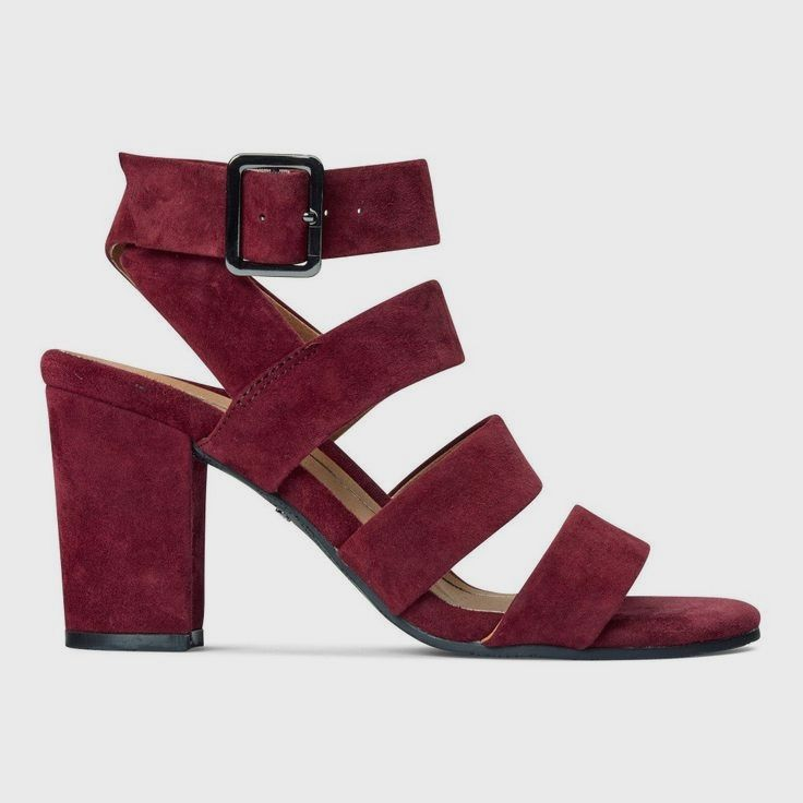 😘Check Out These CUTE Burgundy High Heels!