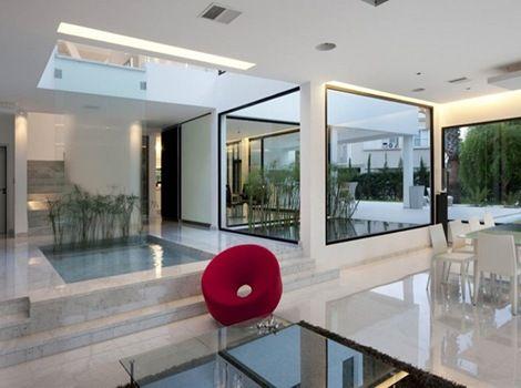 Dise o interior casa minimalista arquitectura for Disenos de interiores casas pequenas