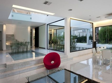 Dise o interior casa minimalista arquitectura - Casa minimalista interior ...