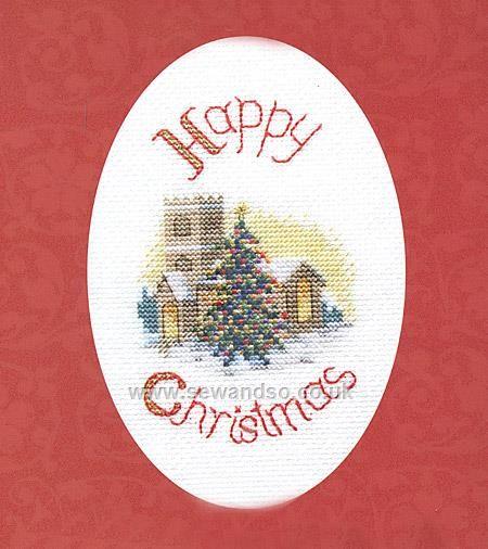 Buy Midnight Mass Greeting Card Cross Stitch Kit Online At