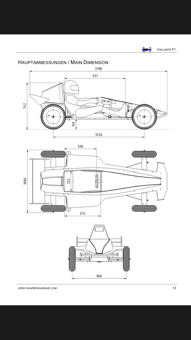 vaillante soapbox dimensions manuals pinterest cars go kart