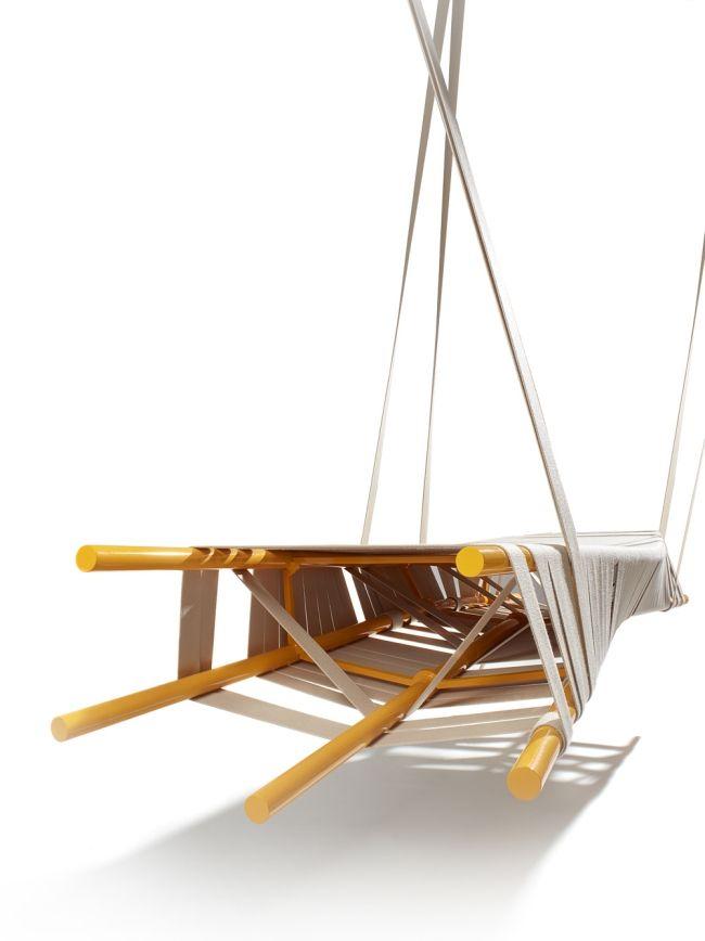 Ausgefallene Designer Schaukel zum Aufhängen von Lionel Doyen ...