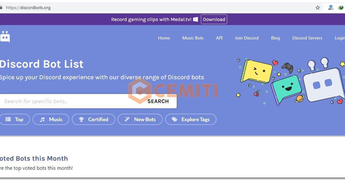Bot Discord Memiliki Banyak Fungsi Seperti Memainkan Musik Dari Youtube Membuat Meme Menjadi Moderasi Server Mini Game Dan Masih B Musik Meme Youtube