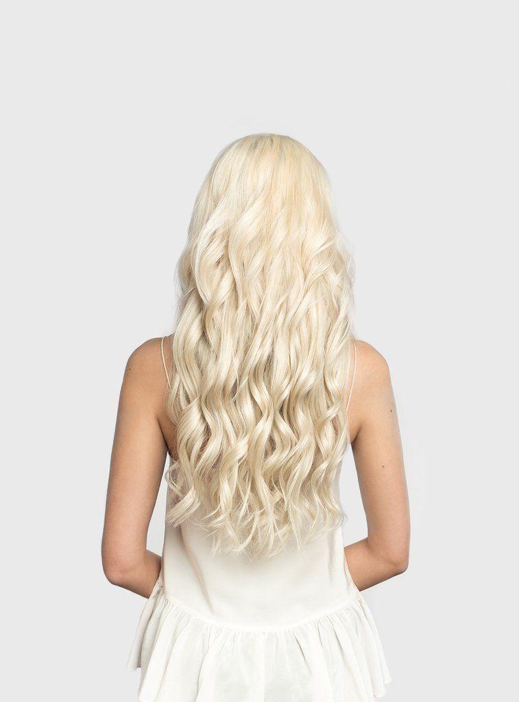 Seamless Platinum Blonde 90 20 180g In 2018 Shop Luxy Hair