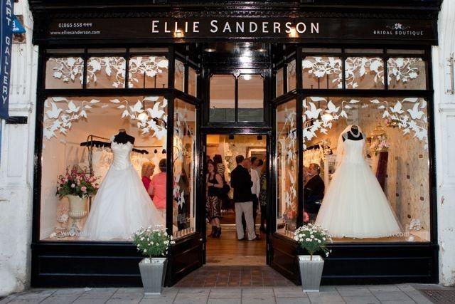 9060cc7ac8c Ellie Sanderson Oxford #shop #window #wedding #dresses | Dreaming of ...
