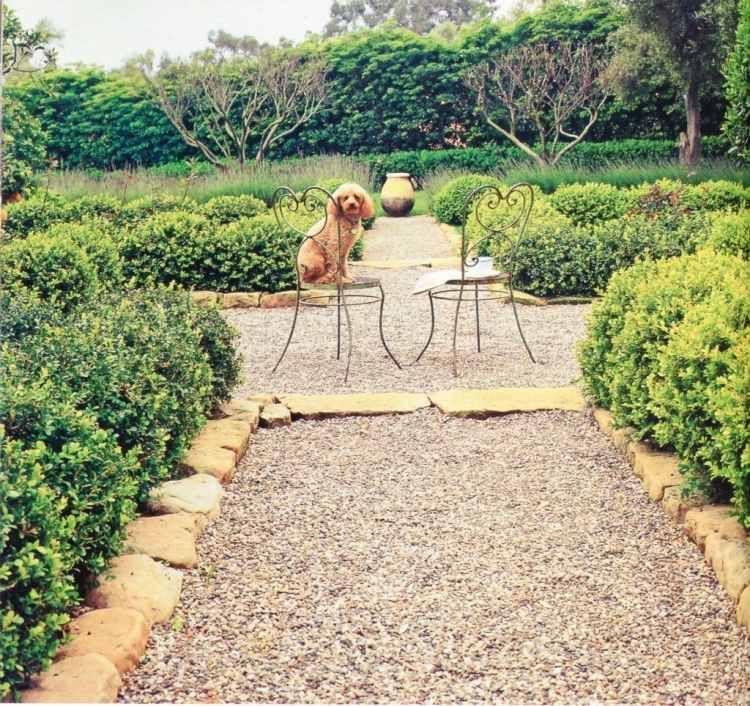 Gravier décoratif pour le jardin avec touche méditerranéenne ...