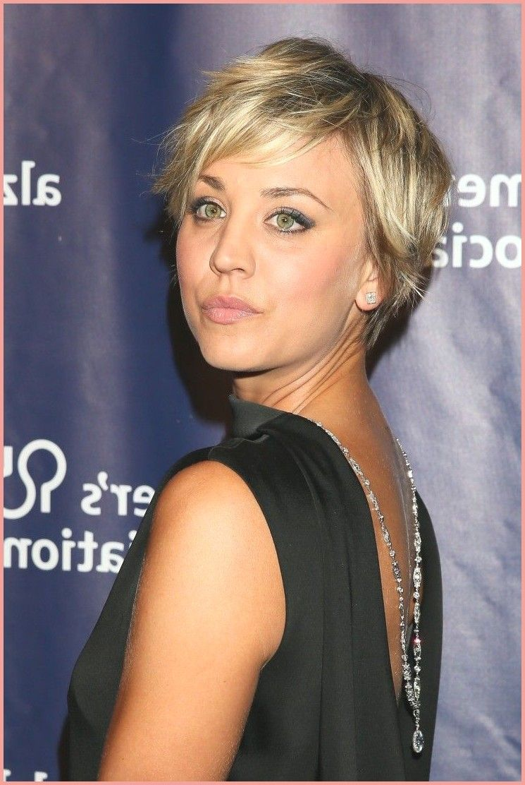 Kurze Frisuren Kaley Cuoco Dyes Her Hair Cotton Candy Pink