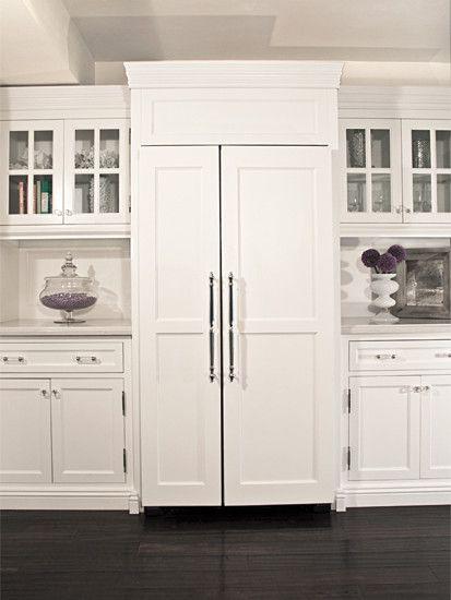Refrigerators And Dishwashers With Paneled Doors Design
