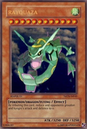 graphic relating to Printable Yugioh Cards named Pokemon Yu-gi-oh Playing cards!!!!! - Printable Variation Yu-gi-oh