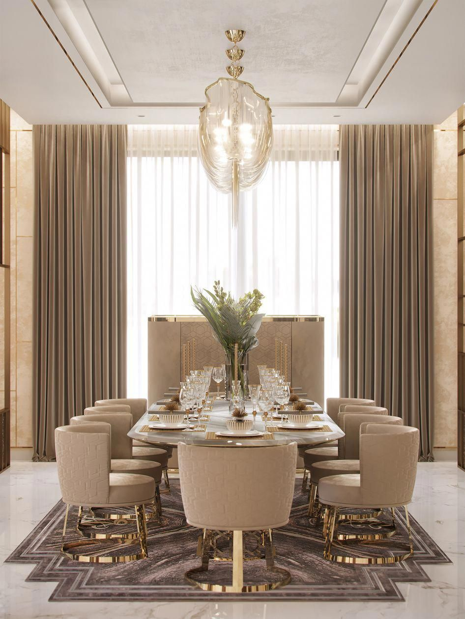 See Our Selection Of Fabulous Dining Room Ideas To Help You On Your House Decor See More C Dining Room Design Luxury Elegant Dining Room Dining Room Interiors