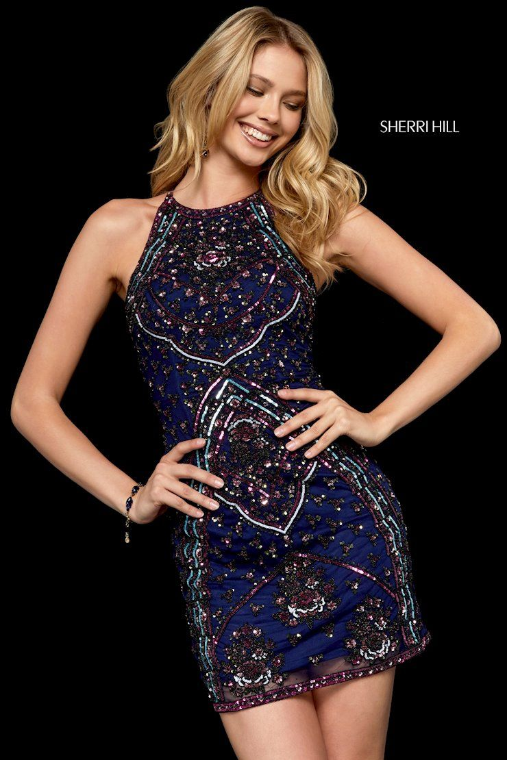 93b085053e7 Sherri Hill 52205 - Shop this homecoming 2018 style and more at  oeevening.com!