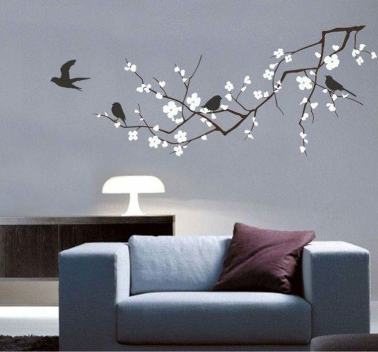 vinilos baratos pared para la decoracin de los interiores - Vinilos Baratos