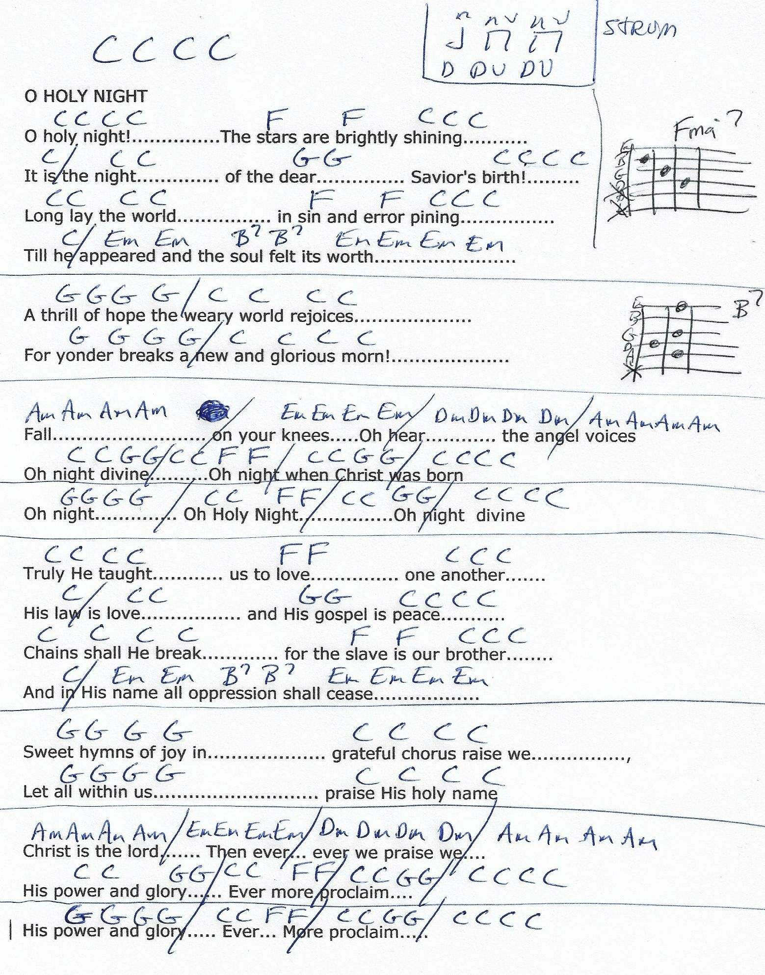 Last Christmas Chords In C Christmaswalls
