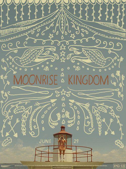 Moonrise Kingdom Poster | via Tumblr