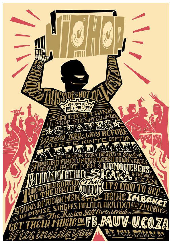 Muv U Hip Hop Creative Poster Design Hip Hop Poster Poster Design