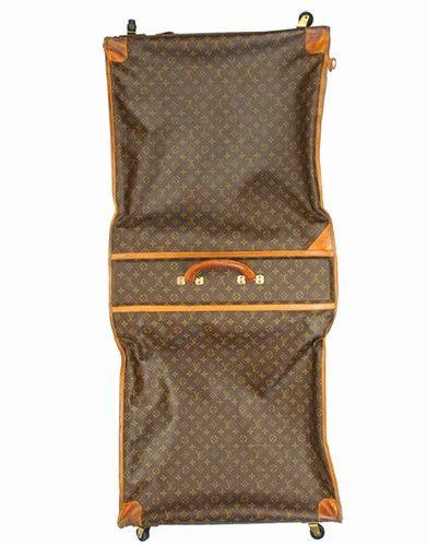 4f5f59556827 Vintage Authentic Louis Vuitton large garment suit bag -  850.